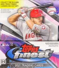 2021 Topps Finest MLB Baseball Hobby Box