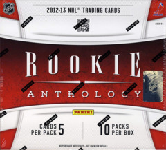 2012-13 Panini Rookie Anthology NHL Hockey Box