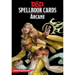 Dungeons And Dragons: Updated Spellbook Cards - Arcane Deck