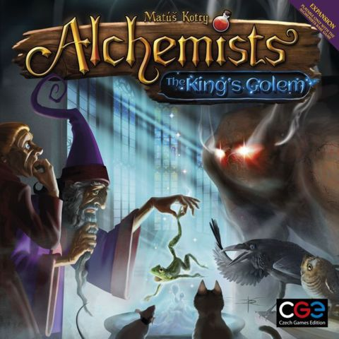 Alchemists - The Kings Golem