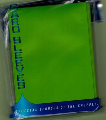 Max Protection Lime Green Sleeves 50ct