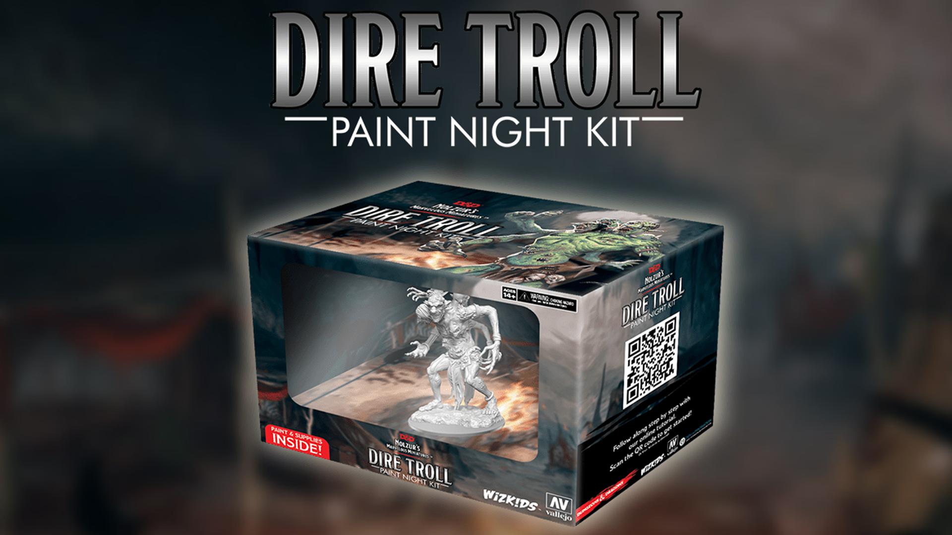 D&D Nolzurs Paint Night- Dire Troll