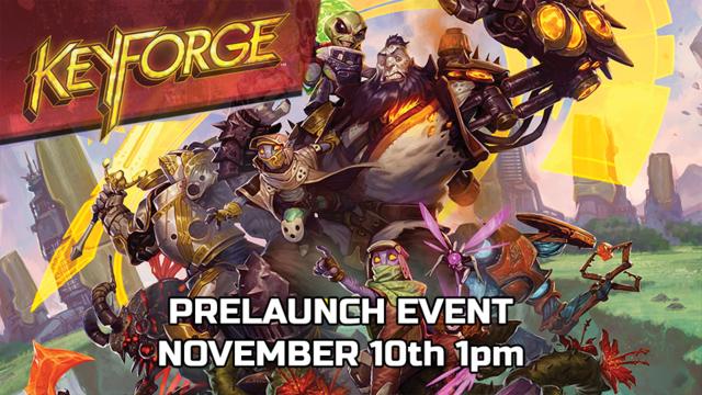 Keyforge PreLaunch Event