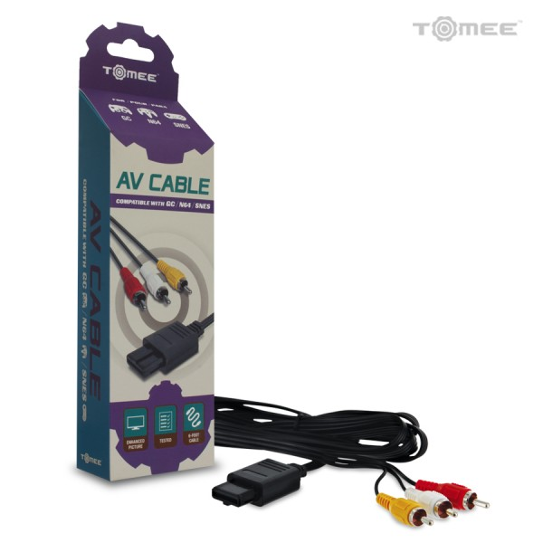 GameCube / N64 / SNES AV Cable
