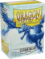 Dragon Shield Box of 100 in Matte Clear Blue