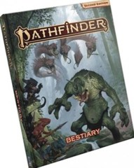 Pathfinder Bestiary second edition