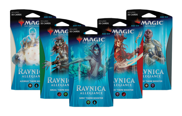 Ravnica Allegiance Theme Booster - Set of 5