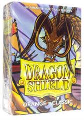 Dragon Shield Classic - Japanese size - Orange - 60 ct
