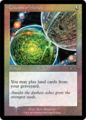 Crucible of Worlds Foil - DCI Judge Promo
