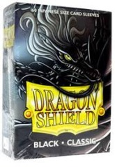 Dragon Shield Classic - Japanese size - Black - 60 ct