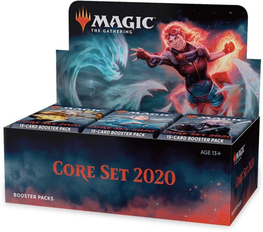 Core 2020 booster box (Buy a Box Promo not included)