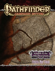 PATHFINDER CAMPAIGN SETTING: WRATH OF THE RIGHTEOUS POSTER