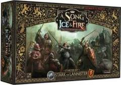 A Song of Fire & Ice: Tabletop Miniatures Game Stark vs Lannister Starter Set