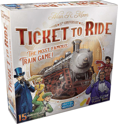 Ticket To Ride: 15th Anniversary Special Edition