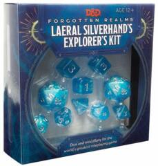Dungeons & Dragons: Forgotten Realms - Laeral Silverhand's Explorer's Kit Dice & Miscellany
