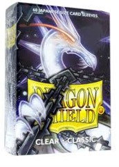 Dragon Shield Classic - Japanese size - Clear - 60 ct