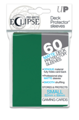 Pro-Matte Eclipse Small Size Card Sleeves - Forest Green (60ct)