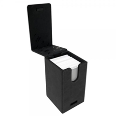 Alcove Tower Deck Box- Suede Black