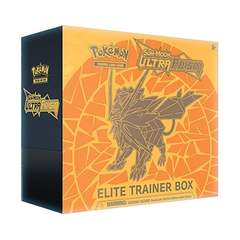 Pokemon Sm5 Ultra Prism Elite Trainer Box Orange