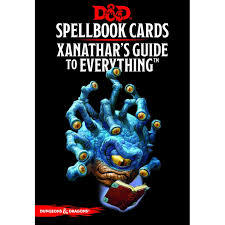 Dungeons And Dragons: Updated Spellbook Cards: Xanathar