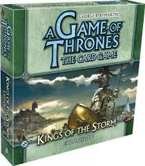 A Game of Thrones: The Card Game : Kings of the Storm Deluxe Expansion