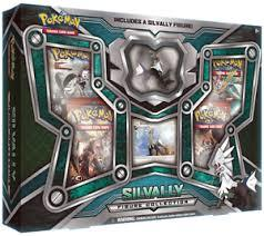 Silvally Figure Collection Box