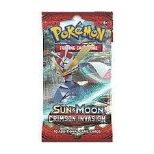 Sun & Moon Crimson Invasion Booster