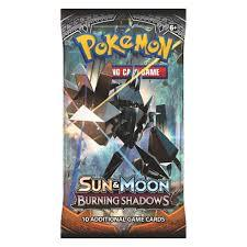 Sun & Moon Burning Shadows Booster