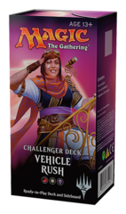 Vehicle Rush Challenger Decks