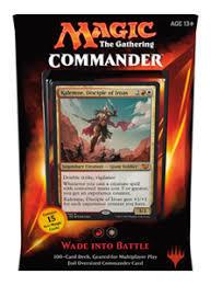 Commander 2015 FR - Wade Into Battle (R/W) (FR)