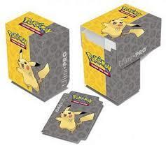 Pokemon Pikachu Deck Box