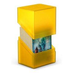 Ultimate Guard: Boulder Deck Box Standard 80+: Amber