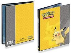 Pokemon 4-Pocket Portfolio - Pikachu