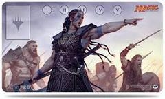 Commander 2016 Play Mat: Saskia the Unyielding for Magic