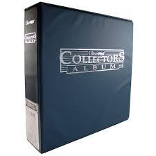 Ultra Pro 3-Ring (D-Ring Binder) Blue Collector's Card Album