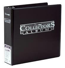 Ultra PRO Ring Binder - Black