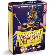 Dragon Shield Matte - Japanese size - Purple - 60 ct