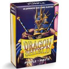 Dragon Shield Japanese Sized Matte Purple Sleeves (60)