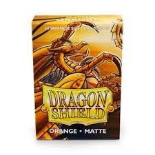 Dragon Shield Matte - Japanese size - Orange - 60 ct