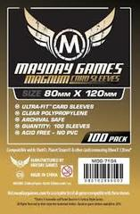 Mayday: Large Card Sleeves: 80mm X 120mm