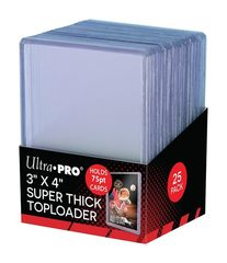 Ultra Pro Toploaders Thick 75Pt.(3