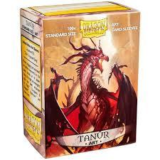 Dragon Shield Art Sleeves, Tanur 100ct