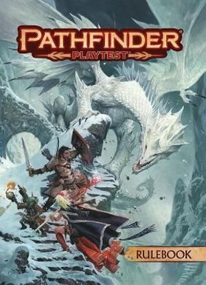 Pathfinder Playtest Rulebook soft cover