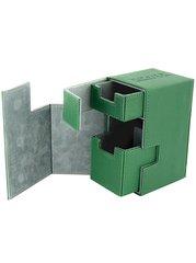 Ultimate Guard Flip´n´Tray Deck Case 80+ Xenoskin Green