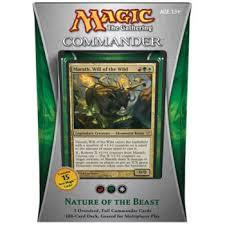 Commander 2013 - Nature of the Beast [R/G/W]