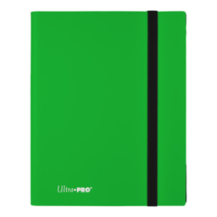 Ultra Pro Binder: Eclipse - Lime Green (9-Pocket)