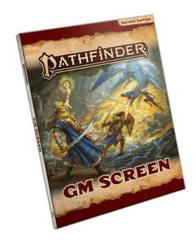 Pathfinder GM Screen second edition