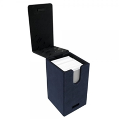 Alcove Tower Deck Box- Suede Blue/Sapphire