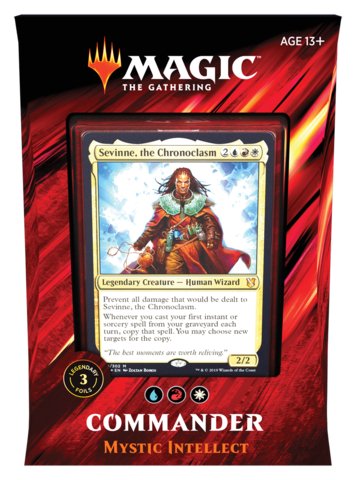 Commander 2019 Mystic Intellect Deck