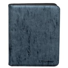 Ultra Pro: Zippered Pro-Binder Suede- Sapphire